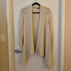 American Eagle Cream Knit Cardigan